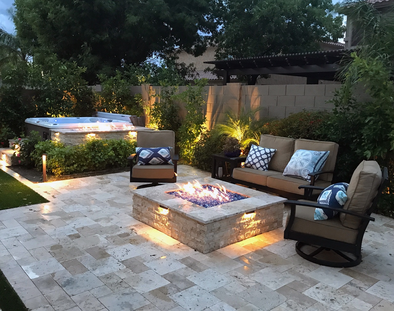 Arizona pool building and landscape design services