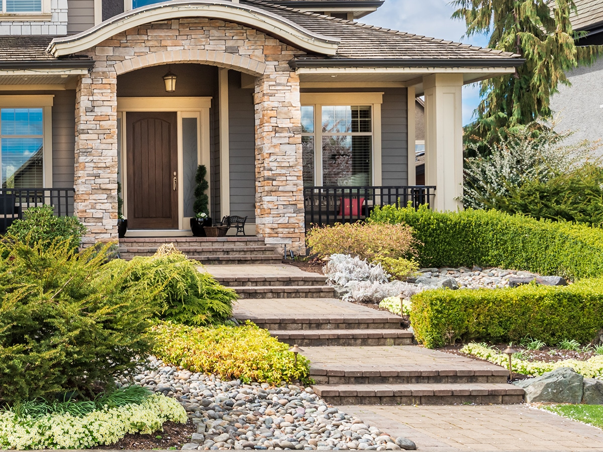 Front-Yard Landscaping Services in Mesa